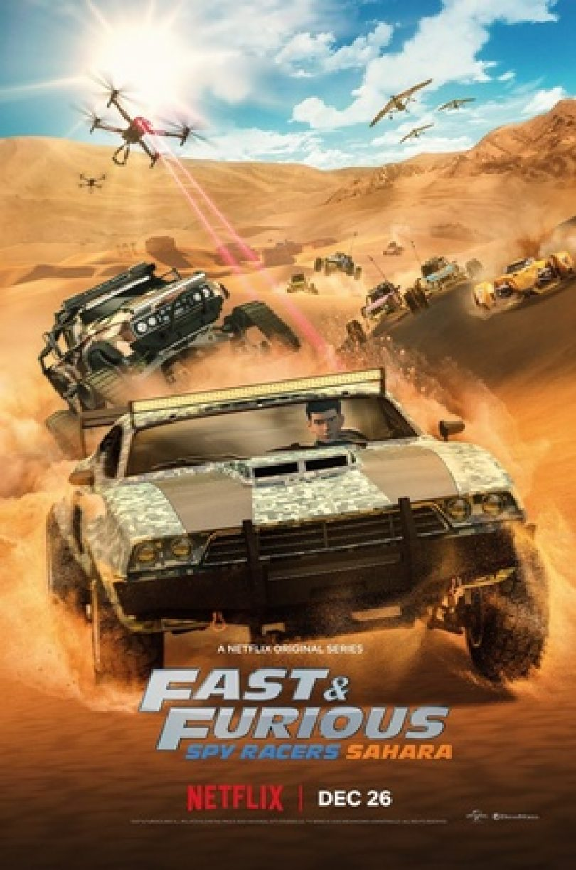 Fast And Furious Spy Racers Temporada 3 [1080p] [Latino-Ingles]